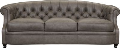 chevis sofa leather