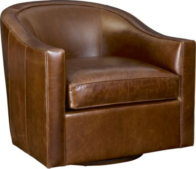 Gentil Anthony Baratta Rocco Swivel Chair (Leather)