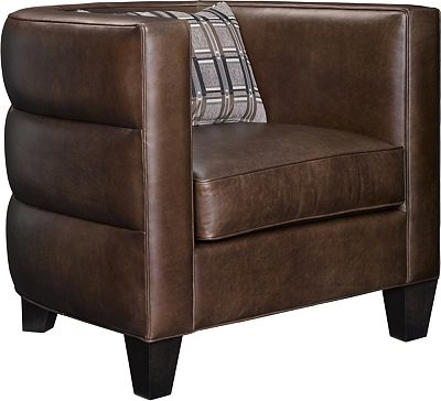 Riley Barrell Chair (Leather)