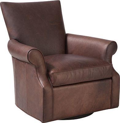 ED™ Ellen DeGeneres Westwood Swivel Chair (Leather)
