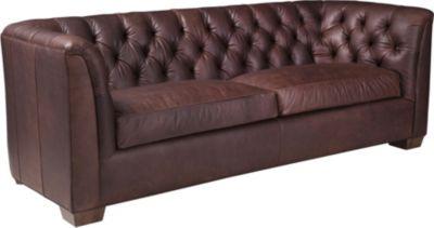 ED™ Ellen DeGeneres Whitecliff Sofa (Leather)