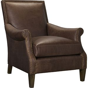 arm chairs living room. Ernest Hemingway  Maximo Chair Leather Living Room Chairs Armchairs Thomasville Furniture