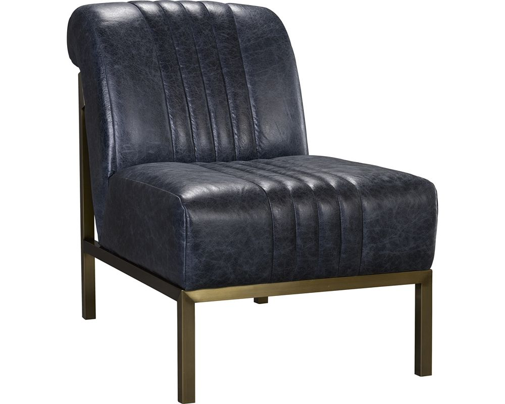Mercedes Chair (Leather - Glazed Bronze Finish)