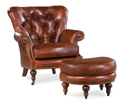 Vienna Ottoman (Leather)