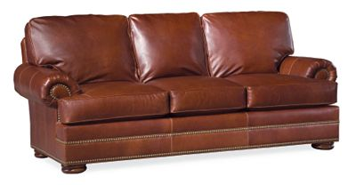 ashby sofa leather thomasville furniture