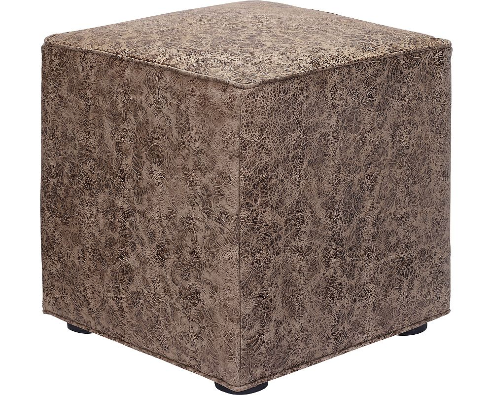 Nightclub Cube Ottoman (Leather)