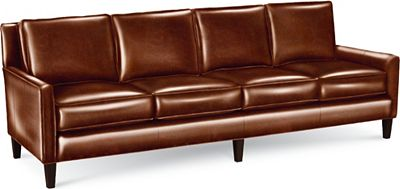Highlife 4 Seat Sofa (Leather) | Thomasville Furniture