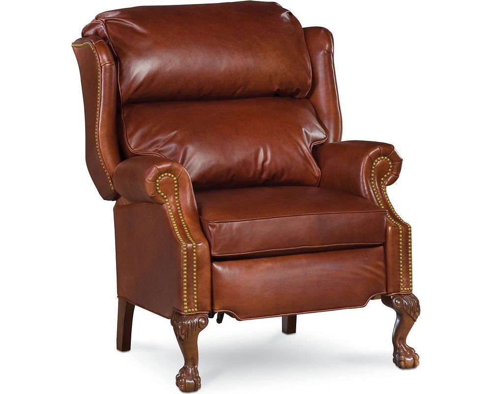 claire recliner leather thomasville furniture