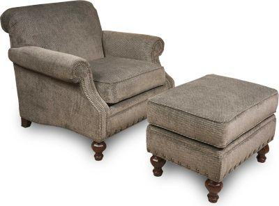 living room chair and ottoman set