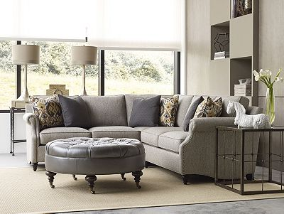 ancil sectional sofa | living room furniture | thomasville furniture