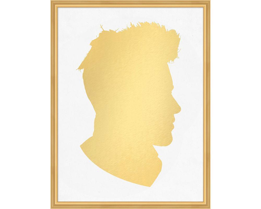 Gold Leaf Silhouette 2