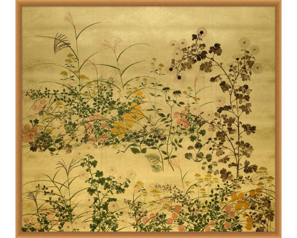 Vintage Floral Screen
